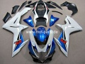 GSX R 600/750 Bj. 11-14 white blue